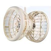 雙生-吊掛式風球機雙面風扇 雙頭扇