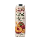 土耳其meysu 100%水蜜桃蘋果汁1L
