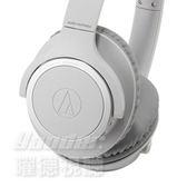 【曜德視聽★新上市】鐵三角 ATH-SR30BT 灰色 輕量化 無線藍牙耳罩式耳機 續航力70HR / 送收納袋