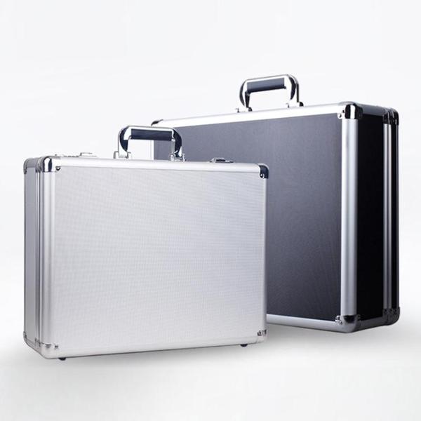 手提式鋁合金密碼工具箱保險箱子文件箱五金設備儀器箱多功能大號 南風小鋪