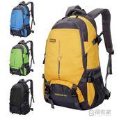戶外超輕大容量背包旅行防水登山包女運動書包後背包男25L45L  極有家