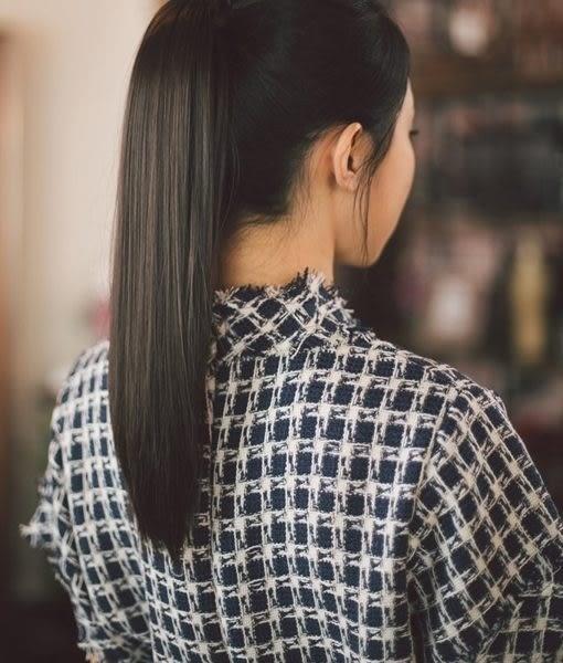 假髮   直馬尾綁帶款 髮片 高絲溫卡絲  【WHH004】-收納女王