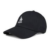 【現貨】MLB 美國大聯盟 道奇隊 棒球帽 黑帽 白字LOGO 老帽 可調式 男女款 5762003-900