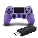 [哈GAME族]限量新色登場●PS4 新款無線控制器 光條觸控版 + JYS-NS130 手柄轉換器 適用PC/PS3/NS
