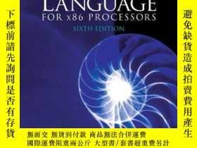 二手書博民逛書店Assembly罕見Language For X86 ProcessorsY256260 Kip R. Irv