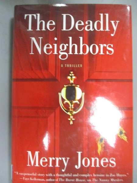 【書寶二手書T9/原文小說_HFM】The Deadly Neighbors: A Thriller_Jones, Merry Bloch