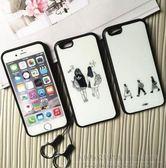 【SZ15】 iphone 6s 4.7 黑邊搞怪女孩 手機殼(附掛繩) iphone 6s  ihone se 5s 手機殼 iphone 6 iphone 6s plus