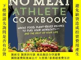 二手書博民逛書店The罕見No Meat Athlete CookbookY19