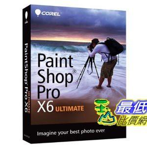 [103 美國直購 USAShop]  配件 Corel PaintShop Pro X6 Ultimate_mr $2944