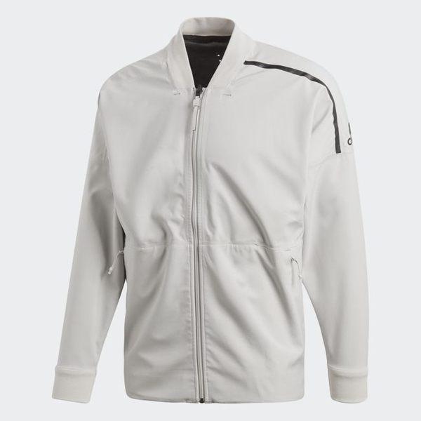 ADIDAS Z.N.E. REVERS 男裝 外套 立領 飛行外套 雙面穿 透氣 輕量 黑 灰【運動世界】CW0116