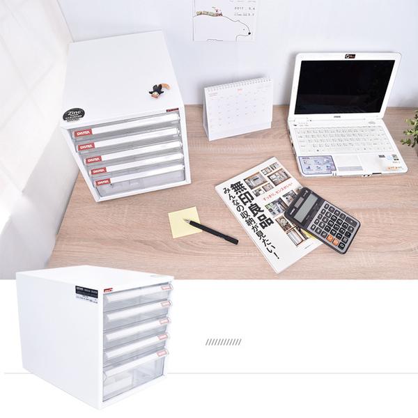 樹德/文件櫃/桌上櫃/資料櫃/收納櫃【A4-105P】 五層桌上櫃 鋅鐵合金10倍防鏽 MIT