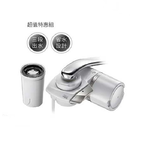 【3M】 龍頭式濾水器 Filtrete AC300 + 專用替換濾心 AC300-F《本組合共2芯》