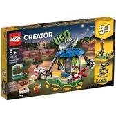 樂高積木 LEGO《 LT31095 》創意大師 Creator 系列 - 遊樂場旋轉木馬╭★ JOYBUS玩具百貨