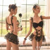情趣內衣服透視裝性感蕾絲女僕裝三點小胸開檔SM激情制服套裝用品 完美情人精品館 YXS