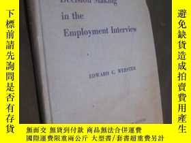 二手書博民逛書店decision罕見making in the employme