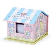 Hamee   三麗鷗房屋 收納盒便條紙N 次貼辦公小物雙子星糖果店592684