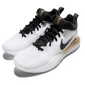 【五折特賣】Nike 籃球鞋 Zoom Rev EP 白 黑 金 運動鞋 男鞋 氣墊 高筒 【PUMP306】 852423-107