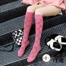 長筒襪女潮韓國日系街頭中筒半高筒長腿小腿襪【君來佳選】