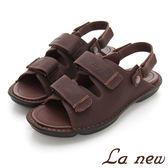 La new  雙密度氣墊涼鞋-男216055121