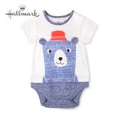 Hallmark Babies 小熊釣大魚系列春夏男/女嬰短袖包屁衣 HH1-N04-02-BU-NN