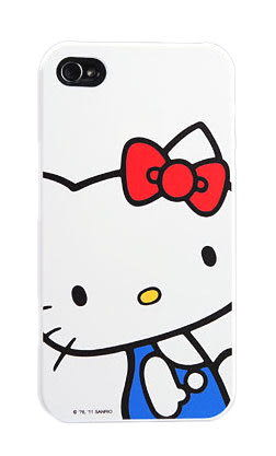【漢博商城】POWER SUPPORT iPhone 4/4S 專用 Hello Kitty 保護殼(KT15) ※ 購買即贈保護貼