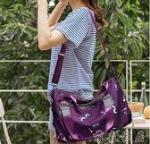 尼龍牛津布單肩斜背包女包包新品新款帆布包手提大容量旅行媽媽包【萌森家居】