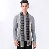 羊毛圍巾-菱格格紋圓點雙面男女披肩3色73ph35[巴黎精品]