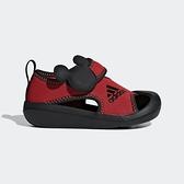 ADIDAS AltaVenture Mickey I [D96909] 小童 休閒 涼鞋 雨鞋 水鞋 米奇 魔鬼氈 紅
