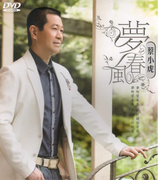 蔡小虎 夢春風 DVD(購潮8)