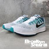 NIKE AIRZOOM STRUCTURE20 藍白網布 慢跑鞋 男(布魯克林)2018/12月 849576-101