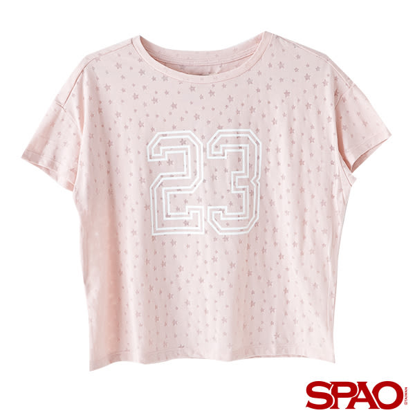 SPAO女款休閒星星LOGO T恤-共2色
