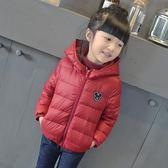 新款童裝長袖外套女童輕薄羽絨服兒童