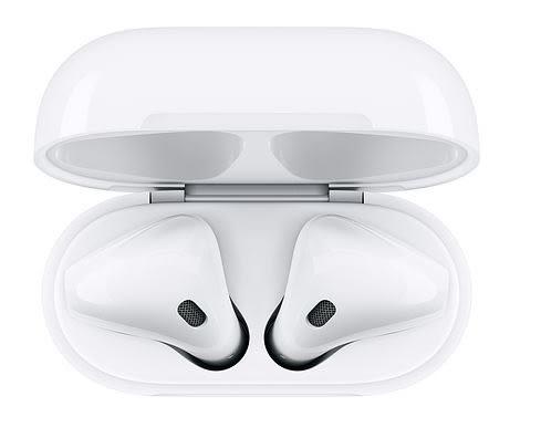 現貨➤【Apple原廠盒裝】AirPods 2代藍芽耳機 (搭配無線充電盒) 2019新版 台灣公司貨