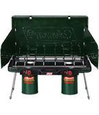 【速捷戶外】【美國Coleman】 CM-6707瓦斯雙口爐 瓦斯爐  自動點火裝置 登山 露營 戶外廚具