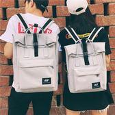 書包女中學生韓版大背包雙肩包學院風帆布bf電腦包男情侶