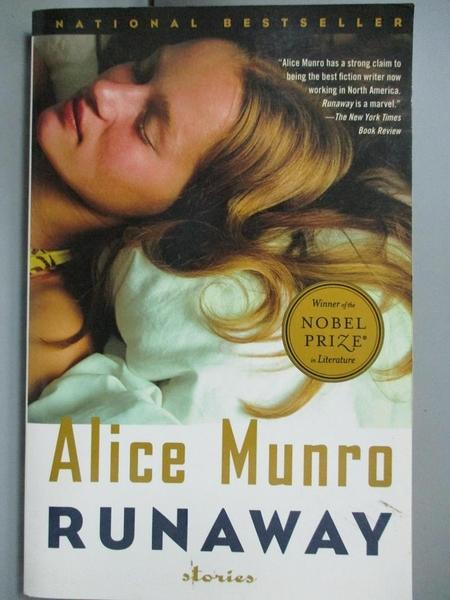 【書寶二手書T6/原文小說_CIX】Runaway: Stories_Munro, Alice