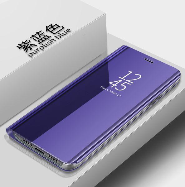 小米Max3 手機殼 奢華 電鍍 立式 鏡面 保護套 翻蓋式 可支架 硬殼 時尚 保護殼