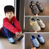 女童鞋子秋款2018新款百搭韓版兒童室內鞋幼兒園小童鞋男防滑軟底 桃園百貨
