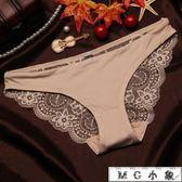 內褲-無痕蕾絲面料透明誘惑性感內褲 MG小象
