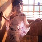 日本和服女浴衣袍短款睡衣情趣cos制服【...