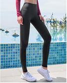 蜜桃臀瑜伽女緊身彈力健美褲速干提臀高腰運動褲健身長褲跑步外穿   易貨居