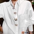 【買一送一】復古胸針日系防走光扣個性絲巾扣愛心別針固定衣服【淘夢屋】