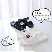 拖鞋女夏 室內防滑洗澡可愛韓國浴室居家用情侶男士軟底涼拖鞋   初見居家