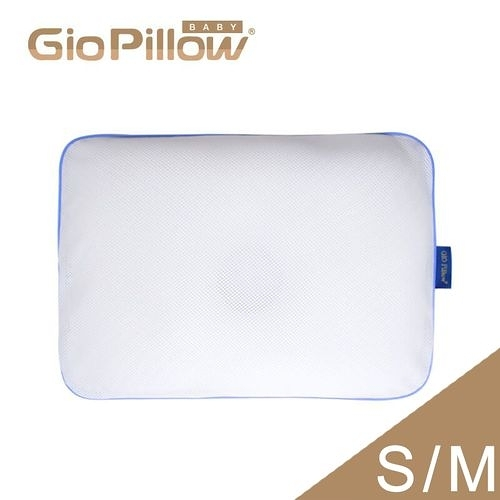 韓國GIO Pillow 超透氣護頭型嬰兒枕頭【雙枕套組-S號/M號】新生兒~2歲以上適用[衛立兒生活館]
