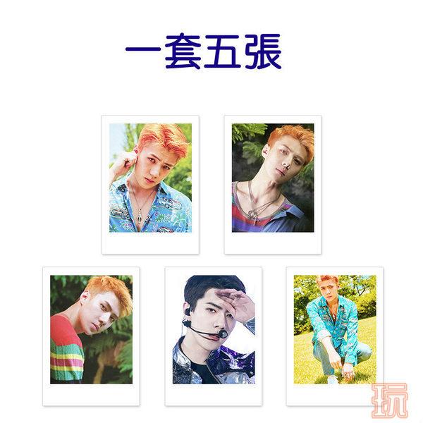 吳世勳  EXO 拍立得照片組 三吋照片組(共5張)E676-F【玩之內】吳世勛