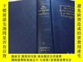 二手書博民逛書店The罕見New Dictionary of Thoughts: