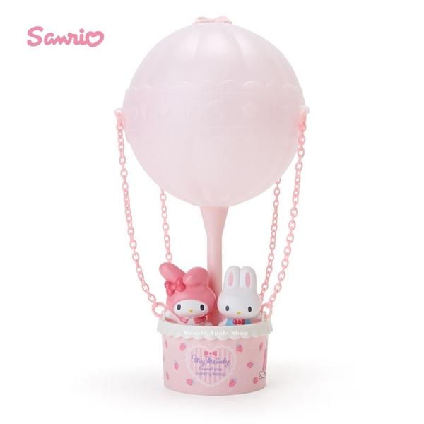 日本限定 美樂蒂  熱氣球主題造型 夜燈 / 房間燈 / 裝飾燈 (USB充電或電池)