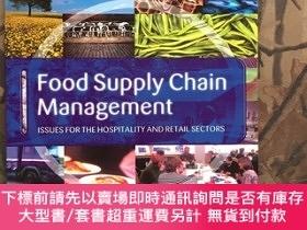 二手書博民逛書店Food罕見Supply Chain Management Issues for the hospitality