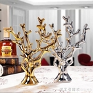 陶瓷工藝品創意擺件客廳電視櫃裝飾品結婚禮物金銀發財樹小擺設 NMS美眉新品