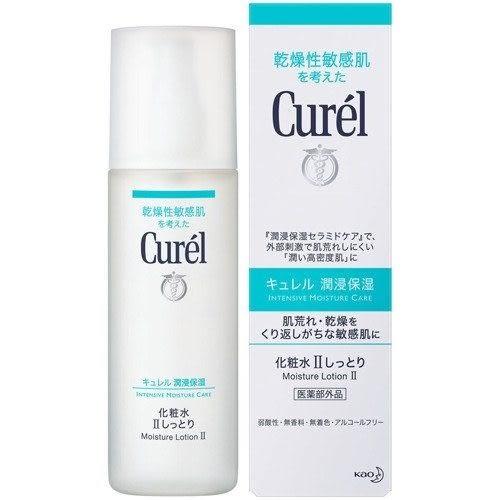 【福利品】日本花王 Curel 化妝水II 輕潤型 150ml